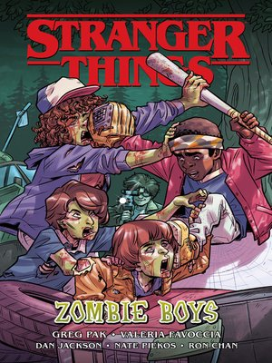 cover image of Stranger Things: Zombie Boys