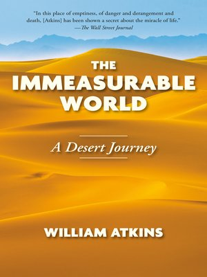 cover image of The Immeasurable World
