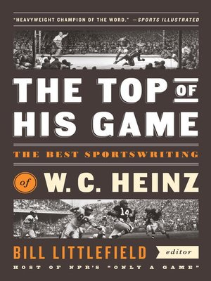 cover image of The Top of His Game
