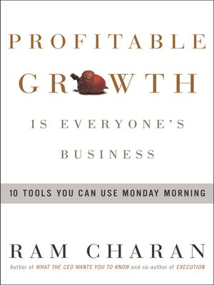 cover image of Profitable Growth Is Everyone's Business
