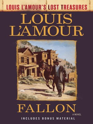 cover image of Fallon (Louis L'Amour's Lost Treasures)