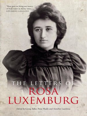 cover image of The Letters of Rosa Luxemburg