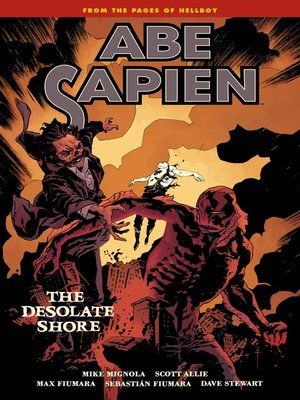 cover image of Abe Sapien (2008), Volume 8