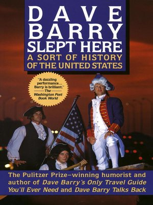 cover image of Dave Barry Slept Here