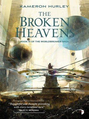 cover image of The Broken Heavens