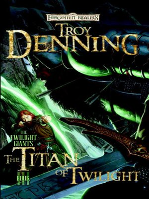 cover image of The Titan of Twilight