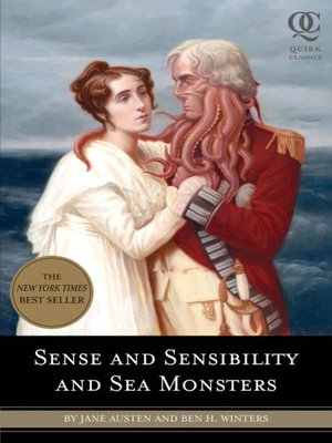 cover image of Sense and Sensibility and Sea Monsters
