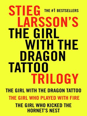 cover image of The Girl With the Dragon Tattoo Trilogy Bundle
