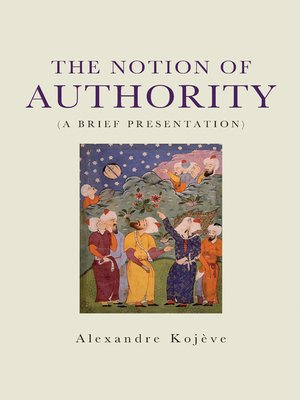 cover image of The Notion of Authority