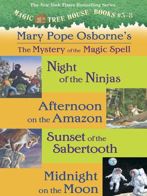 cover image of Magic Tree House, Books 5-8