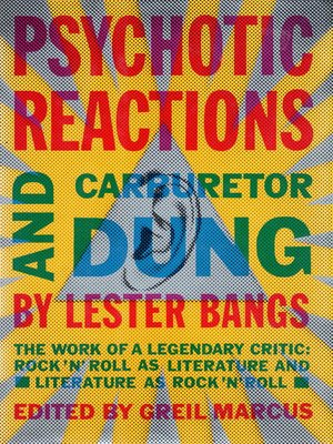 cover image of Psychotic Reactions and Carburetor Dung