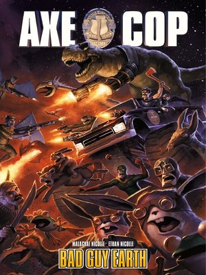 cover image of Axe Cop (2010), Volume 2