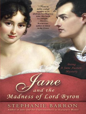 cover image of Jane and the Madness of Lord Byron