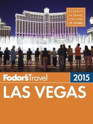 cover image of Fodor's Las Vegas 2015