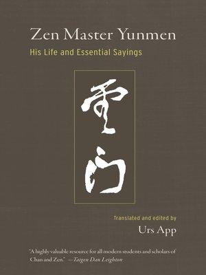 cover image of Zen Master Yunmen