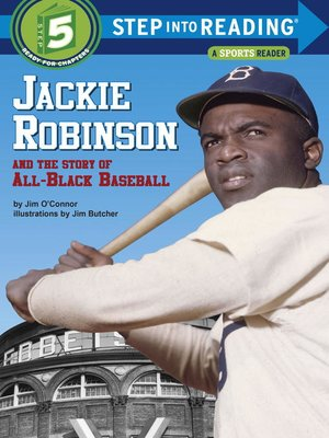 cover image of Jackie Robinson and the Story of All Black Baseball