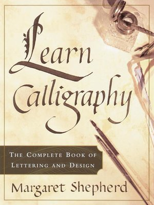 cover image of Learn Calligraphy