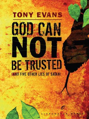 cover image of God Can Not Be Trusted