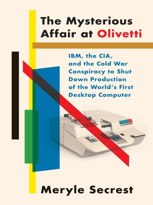 cover image of The Mysterious Affair at Olivetti