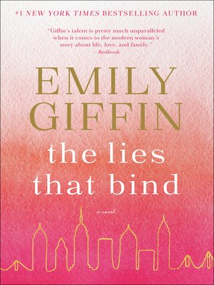 cover image of The Lies That Bind