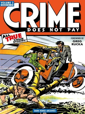 cover image of Crime Does Not Pay Archives, Volume 2