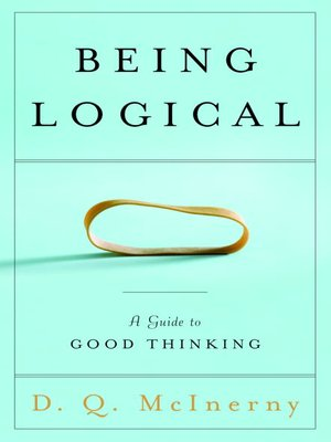 cover image of Being Logical