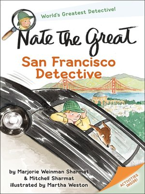 cover image of Nate the Great, San Francisco Detective