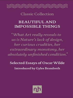 cover image of Beautiful and Impossible Things