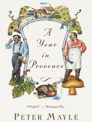 cover image of A Year in Provence