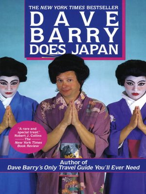 cover image of Dave Barry Does Japan