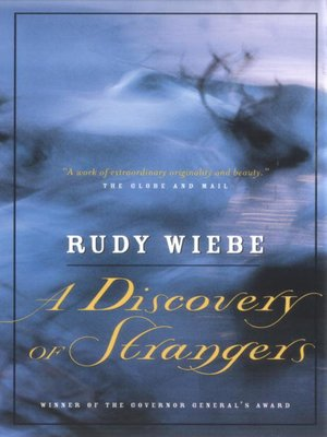 cover image of A Discovery of Strangers