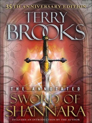 cover image of The Sword of Shannara: Annotated 35th Anniversary Edition