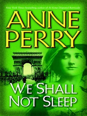 cover image of We Shall Not Sleep