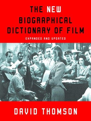 cover image of The New Biographical Dictionary of Film