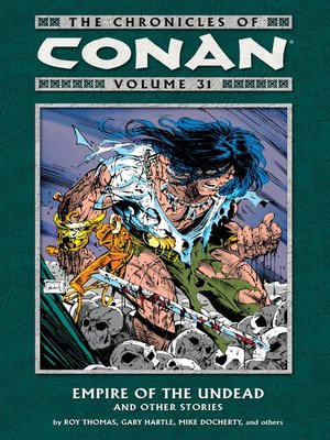 cover image of The Chronicles of Conan, Volume 31