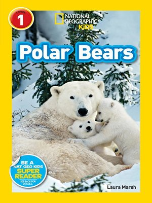 cover image of National Geographic Readers: Polar Bears