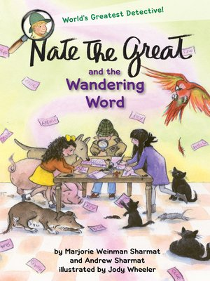 cover image of Nate the Great and the Wandering Word