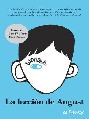 cover image of La lección de August
