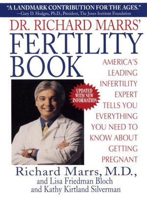 cover image of Dr. Richard Marrs' Fertility Book