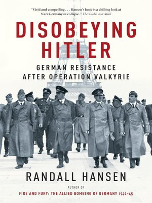 cover image of Disobeying Hitler