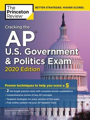 cover image of Cracking the AP U.S. Government & Politics Exam, 2020 Edition