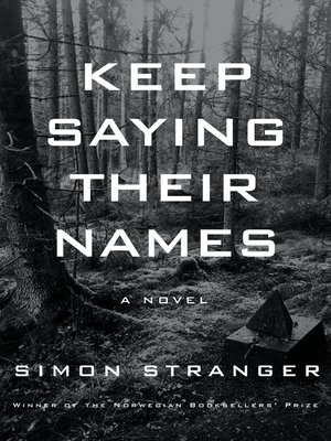 Keep Saying Their Names Book Cover