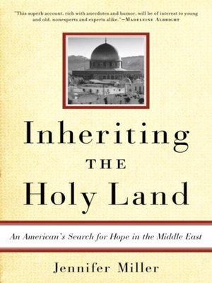 cover image of Inheriting the Holy Land