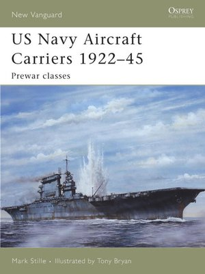 cover image of US Navy Aircraft Carriers 1922-45