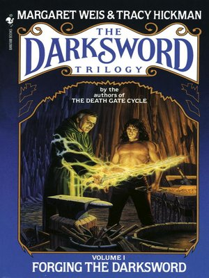 cover image of Forging the Darksword