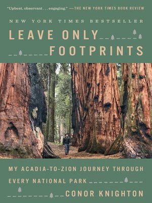 Leave Only Footprints Book Cover