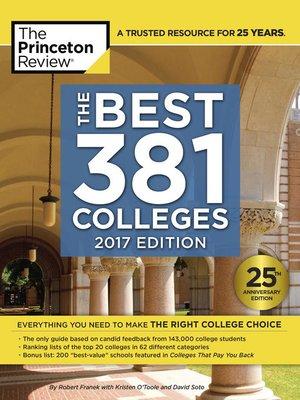 princeton review college essay book
