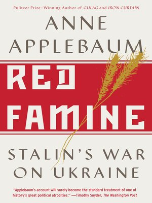 cover image of Red Famine