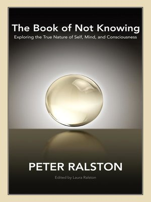 cover image of The Book of Not Knowing