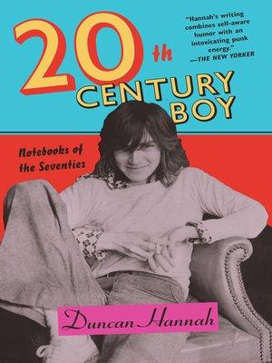 cover image of Twentieth-Century Boy